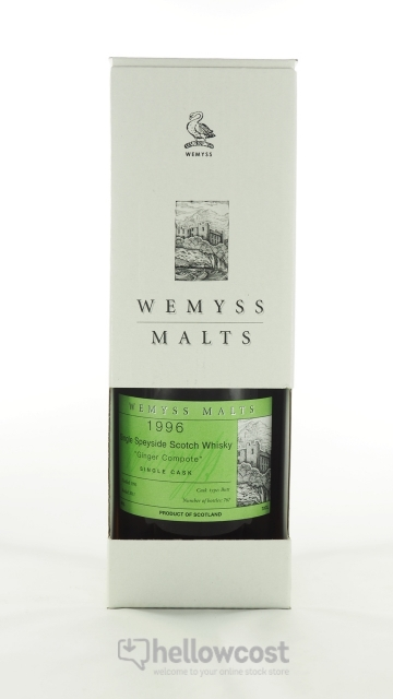 Wemyss Benrinnes Ginger Compote Whisky 1996 46% 70 Cl