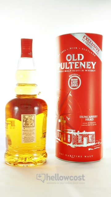 Old Pulteney Bourbon & Sherry Duncansby Head Whisky 46%1 Litre