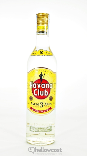 Havana Club 3 Years Rhum Blanc 40º 70 Cl