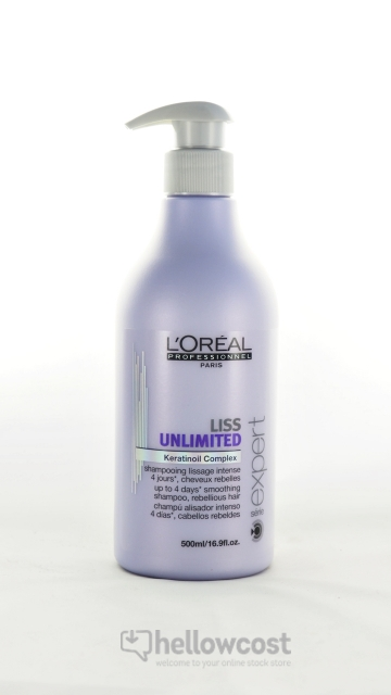 L'Oreal Shampooing Serie Expert Liss Unlimited 500 Ml