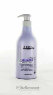 L'Oreal Shampooing Serie Expert Liss Unlimited 500 Ml - Hellowcost