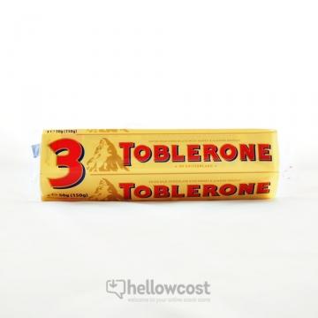 Toblerone Chocolat Au Lait 3x50gr