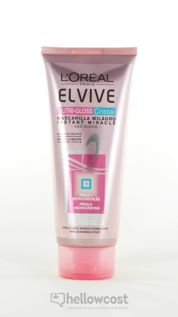 Elvive Nutri-Gloss Cristal Miracle Instantané Loreal 200 Ml
