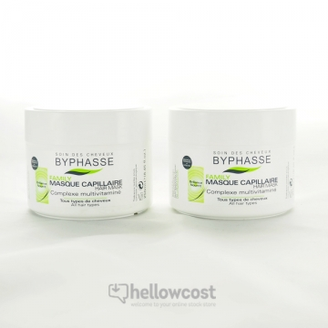 Byphasse Masque Complexe Multivitamine 2x250 ml