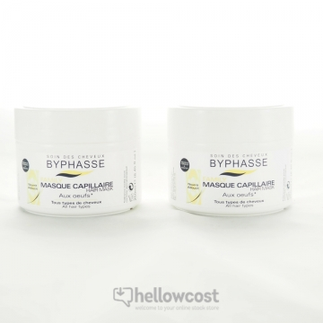 Byphasse Masque Capillaire Aux Oueufs 2x250 ml