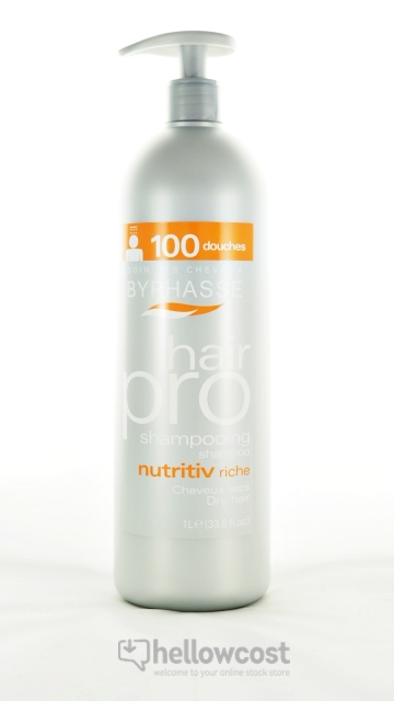 Byphasse Shampooing Pro Hair Nutritiv Cheveux Secs 1.000 ml