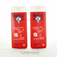 Le Petit Marseillais Gel Douche Pêche Blanche &ampampampampamp Nectarine 2x400 ml - Hellowcost