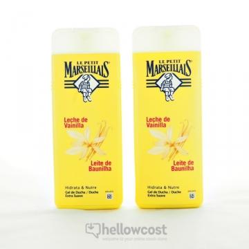 Le Petit Marseillais Douche Crème lait de vanille 2X400 ml