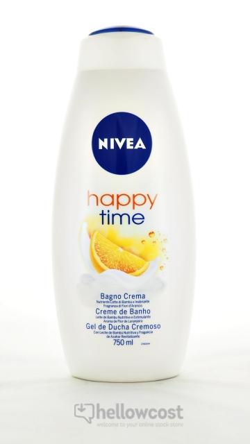 Nivea Happy Time Crème Douche 750 Ml