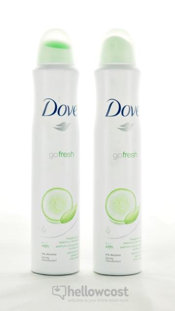 Deo Dove Gofresh Spray 2 X 200 Ml