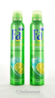 Fa Deodorant Caribbean Lemon Spray 2x200 ml - Hellowcost
