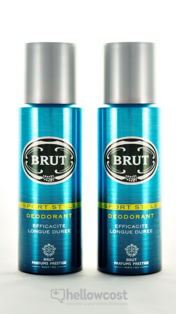 Brut Deodorant Sport Style Spray 2x200 ml