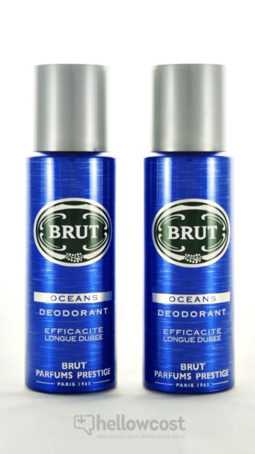 Deo Spray Brut Oceans 2X 200 Ml
