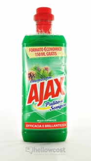 Ajax Limpiador Multiusos Flores De Amapola 1.000 ml - Hellowcost