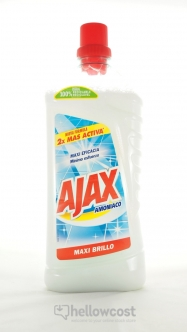 Ajax Nettoyants Multi-Surfaces Maxi Brillance 1.250 ml - Hellowcost