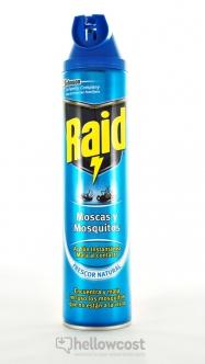 Raid Anti Moscas Y Mosquitos Spray 600 ml - Hellowcost