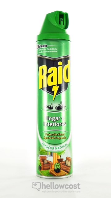 Raid Insectes Volants Interieur Spray 600 ml