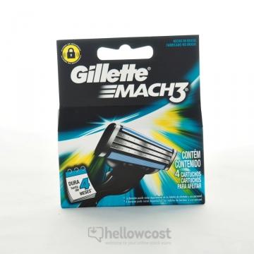 Lames Mach 3 Manuel X4 - Gillette