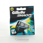 Gillette Mach 3 Lames Manuel X4 Uds - Hellowcost