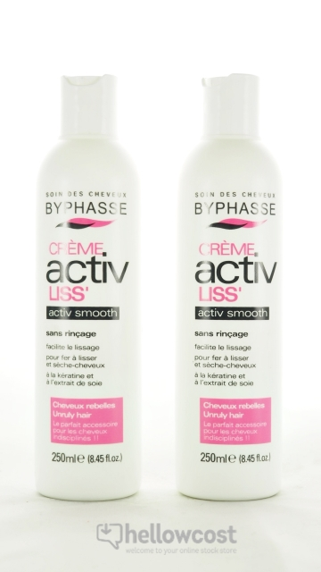 2X Crème Lissante Activ Liss Byphasse 250 Ml