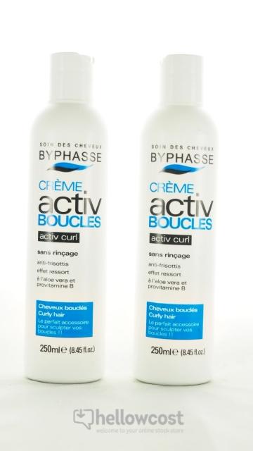 2X Crème Rebouclante Activ Boucles Byphasse 250 Ml