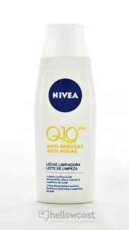 Nivea Lait Démaquillant Anti-Rides Q10 Plus 200 ml - Hellowcost