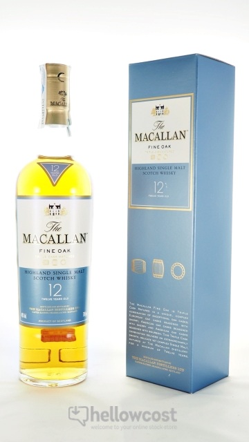 The Macallan Fine Oka 12 Years Whisky 40% 70 Cl