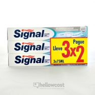 Signal Dentifrice Protection Caries 3X75 Ml - Hellowcost