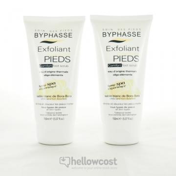 Byphasse Home Spa Experience Exfoliant Confort Pieds Tous Types De Peaux 2X150ml