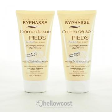 Byphasse Home Spa Experience Crème De Soin Confort Pieds Tous Types De Peaux 2X150 ml