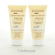 Byphasse Home Spa Experience Crema Confort Pies Todo Tipo De Piel 2X150 ml - Hellowcost