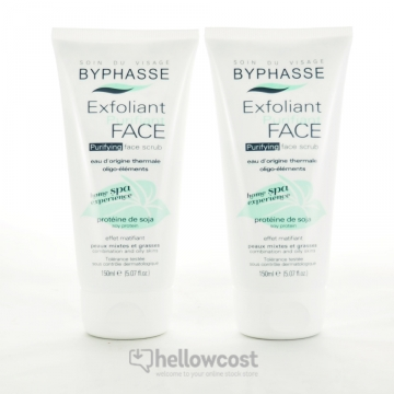 Byphasse Home Spa Experience Exfoliant Purifiant Visage Peaux Mixtes À Grasses 2X150 ml