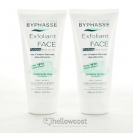 Byphasse Home Spa Experience Exfoliant Douceur Visage Peaux Sensibles À Sèches 2X150 ml - Hellowcost