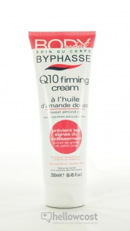 Byphasse Body Seduct Crema Reafirmante Q10 Aceite De Almendra Dulce 250 Ml - Hellowcost