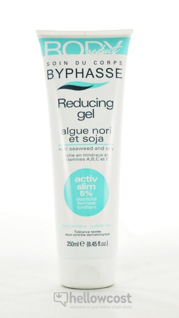 Byphasse Body Seduct Gel Réducteur Algue Nori Et Soja 250ml
