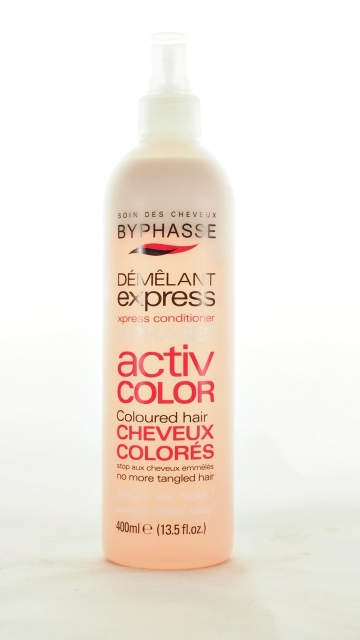 Spray Démêlant Instantané Activ Color Byphasse 400 Ml