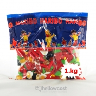 Haribo Surtido Funky Mix 1 kg - Hellowcost
