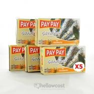 Pay Pay Sardines En Sauce Marinade Poids Net 5X120gr - Hellowcost