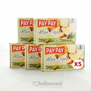 Pay Pay Thon Clair A L'huile D'olive Poids Net 5X111gr - Hellowcost