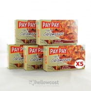 Pay Pay Calamares Trozos En Salsa Americana 5X115gr - Hellowcost