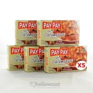 Pay Pay Calmars Morceaux En Sauce Americaine Poids Net 5X115gr - Hellowcost