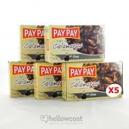 Pay Pay Morceaux Calmars À L'encre Poids Net 5X115gr - Hellowcost