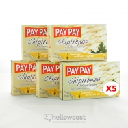 Pay Pay Calmars Entiers Farcis A L'huile Végétale Poids Net 5X115gr - Hellowcost