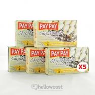 Pay Pay Calmars Entiers Farcis Avec Surimi Type Civelles Poids Net 5X115gr - Hellowcost