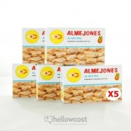 Pay Pay Almejones Al Natural 5X115gr - Hellowcost