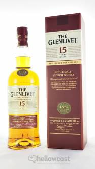 The Glenlivet 15 Ans The French Oak Reserve Whisky 40% 1 Litre - Hellowcost