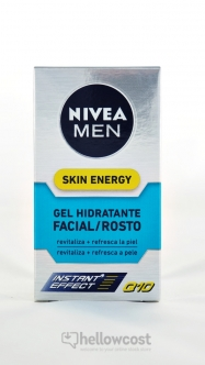 Nivea For Men Gel Visage Skin Energy Q10 50 ml - Hellowcost
