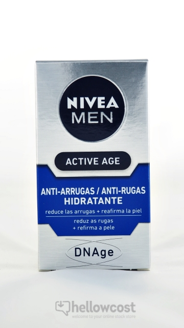 Nivea For Men Soin Hydratant Dnage Active Age 50 Ml
