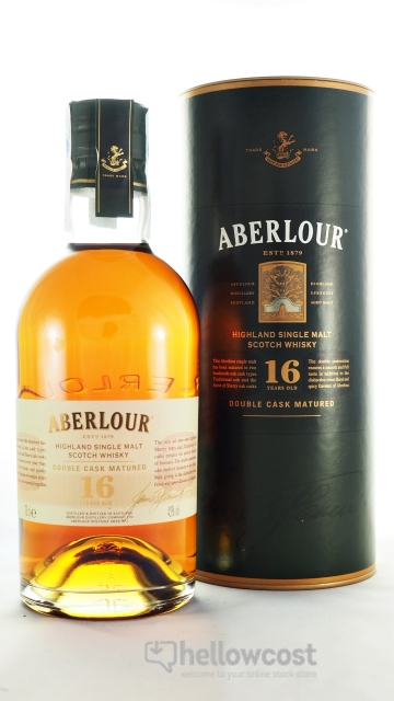 Aberlour 16 Years Double Cask Matured Whisky 43% 70 cl