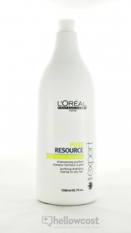 L'oreal Professionnel Shampooing Pure Resource 1500 ml - Hellowcost